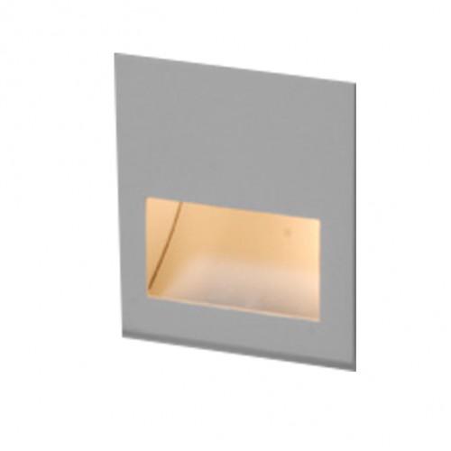 Balizador Embutir Parede Bella Luce BL6011 C/ Lampada Led 3W BQ  - Giamar