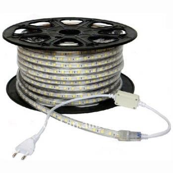Fita  LED 3528 4.8W P/ METRO - KIT COM 5 METROS 127v  - Giamar