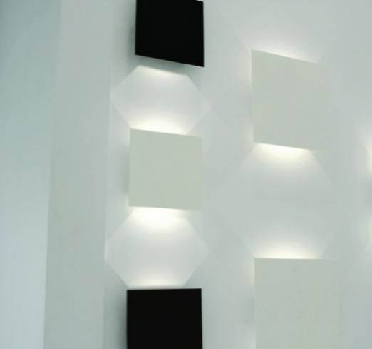 Arandela Bella Luce BL8055 - Facho Duplo C/ Lampa Led 5W   - Giamar