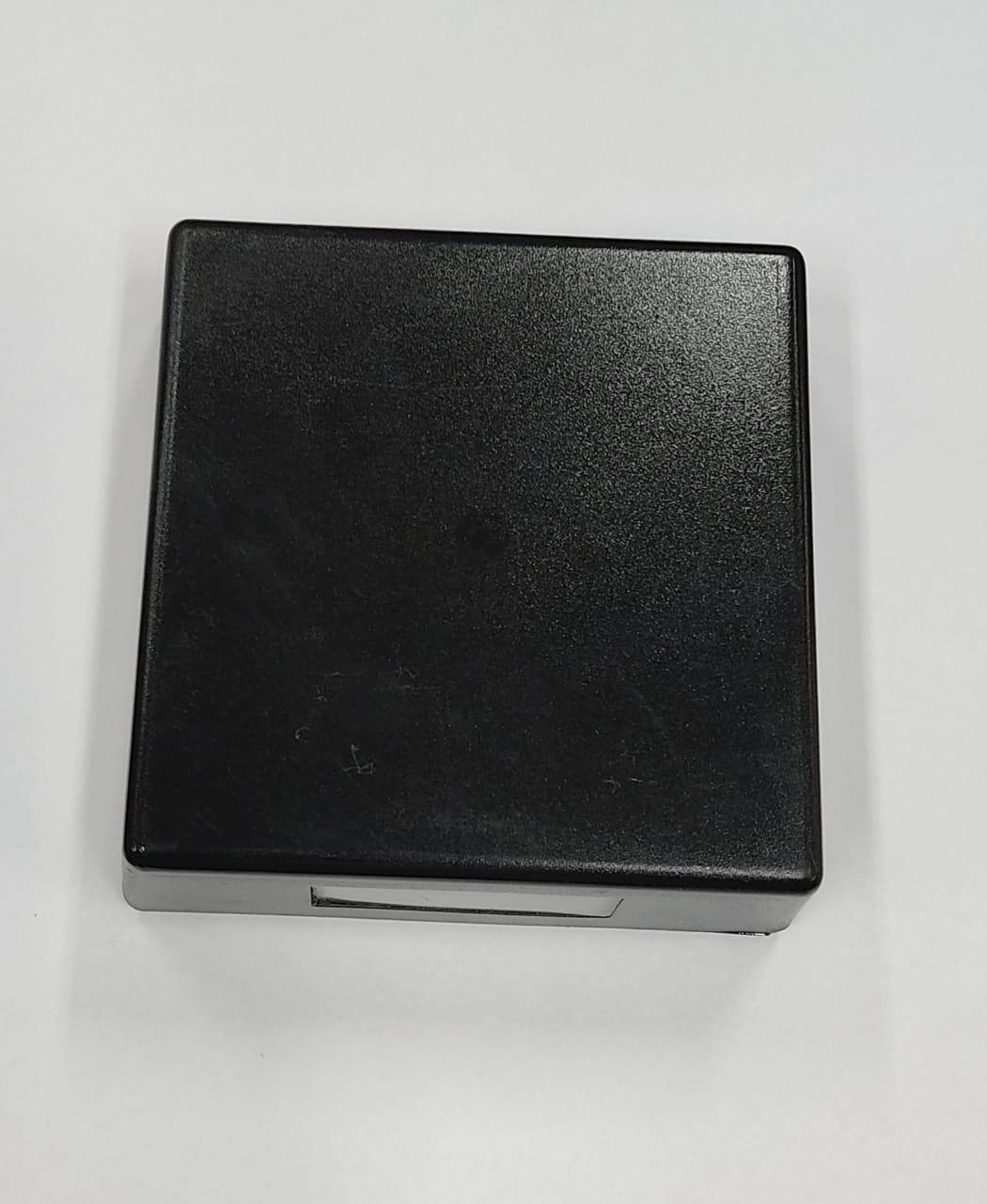 Arandela Externa SLIM Quadrada Preta 22100 c/ Led 5w  - Giamar