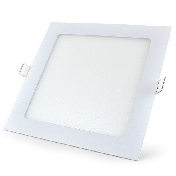 Luminária LED Embutir Quadrada 18w