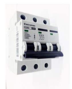 Disjuntor Eletromec Din Tripolar 10A ao 63A  - Giamar