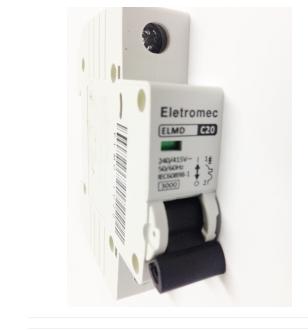 Disjuntor Eletromec  Din Unipolar 10A ao 63A  - Giamar