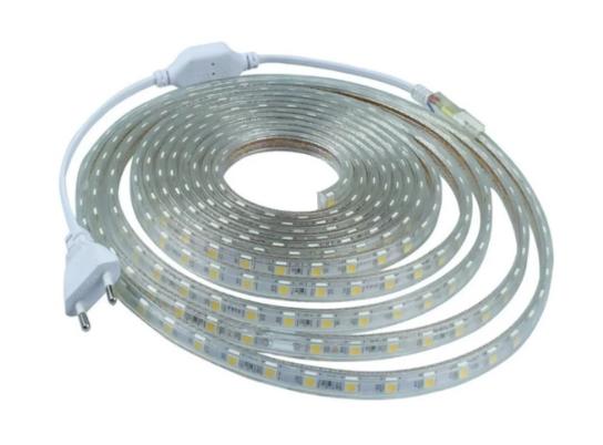 Fita LED 127v / 220v 5050 6mm- Bobina Com 10 Metros - NÃO NECESSITA DE FONTE  - Giamar
