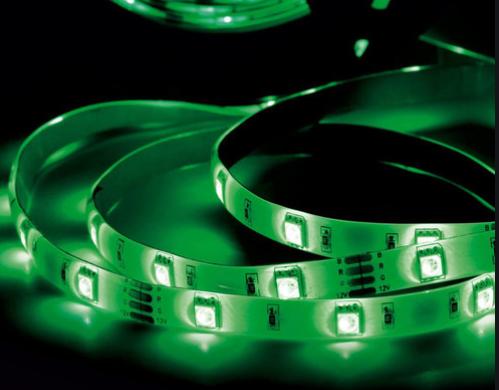 Fita LED 12V 5050 72w Verde IP65 -   - Giamar
