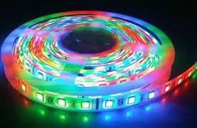 Fita LED RGB 5050 12V 72W - C/ Controle Remoto  - Giamar