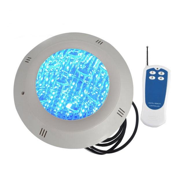 Kit Luminária Led Piscina Blindado Ip68 18w RGB + Controle + Fonte  - Giamar