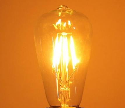 Lâmpada Led Filamento ST64 4W   - Giamar