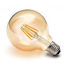 Lampada Led Filamento G95 4W  - Giamar