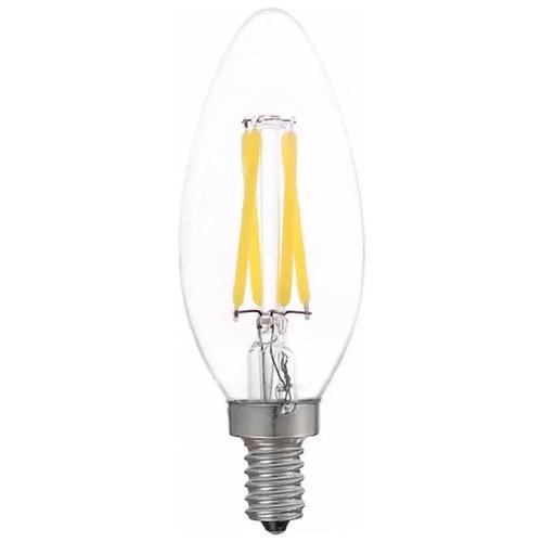 Lampada Led Filamento Vela 4w E-14