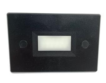 LED BALIZADOR EMBUTIR PARDE 4x2 3W - Preto  - Giamar