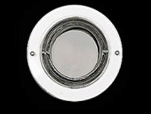 Luminária Spot de Embutir  Vidro 1020 Redonda E27  - Giamar