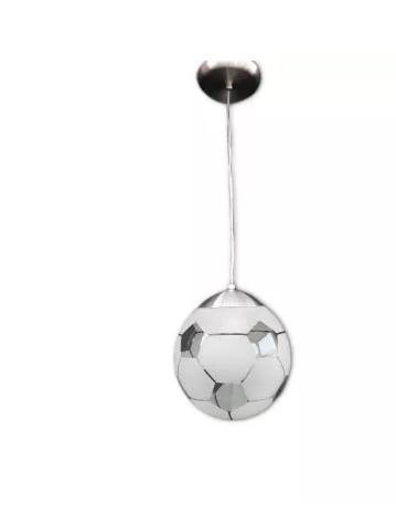 Pendente Escovado Bola de Futebol  - Giamar