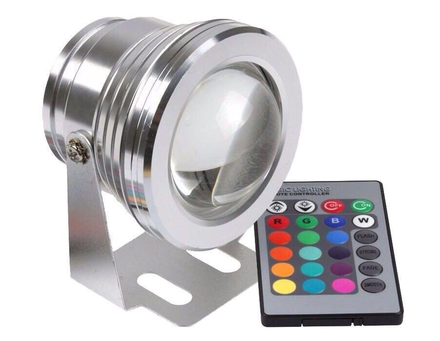 Refletor LED 10W RGB - 12V  - Giamar