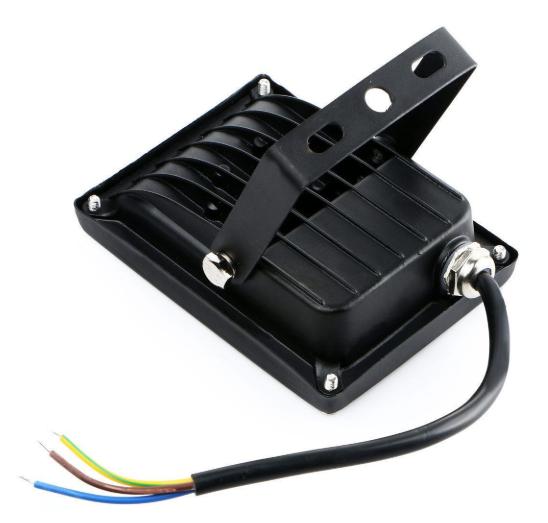Refletor LED 10W RGB C/ Controle Remoto  - Giamar