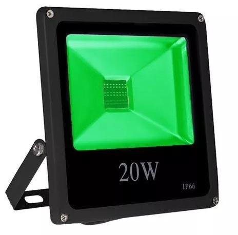 Refletor LED 20W - VERDE  - Giamar