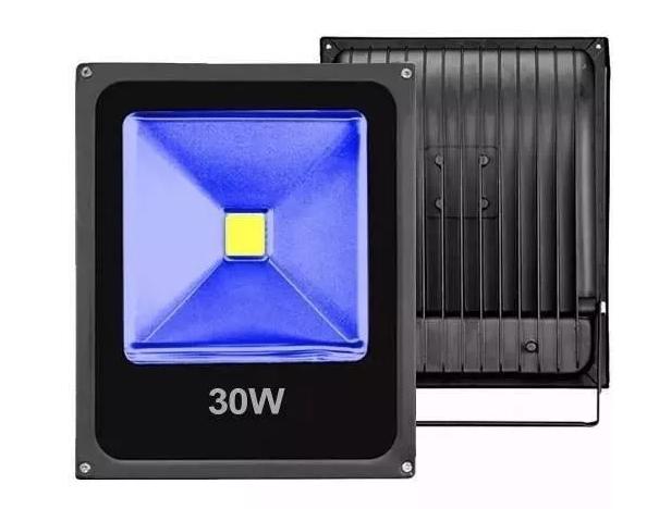 Refletor Led 30w Azul  - Giamar