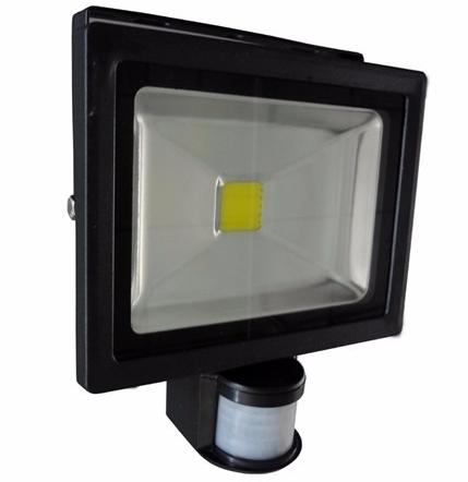 Refletor Led 50w Com sensor de presença  - Giamar