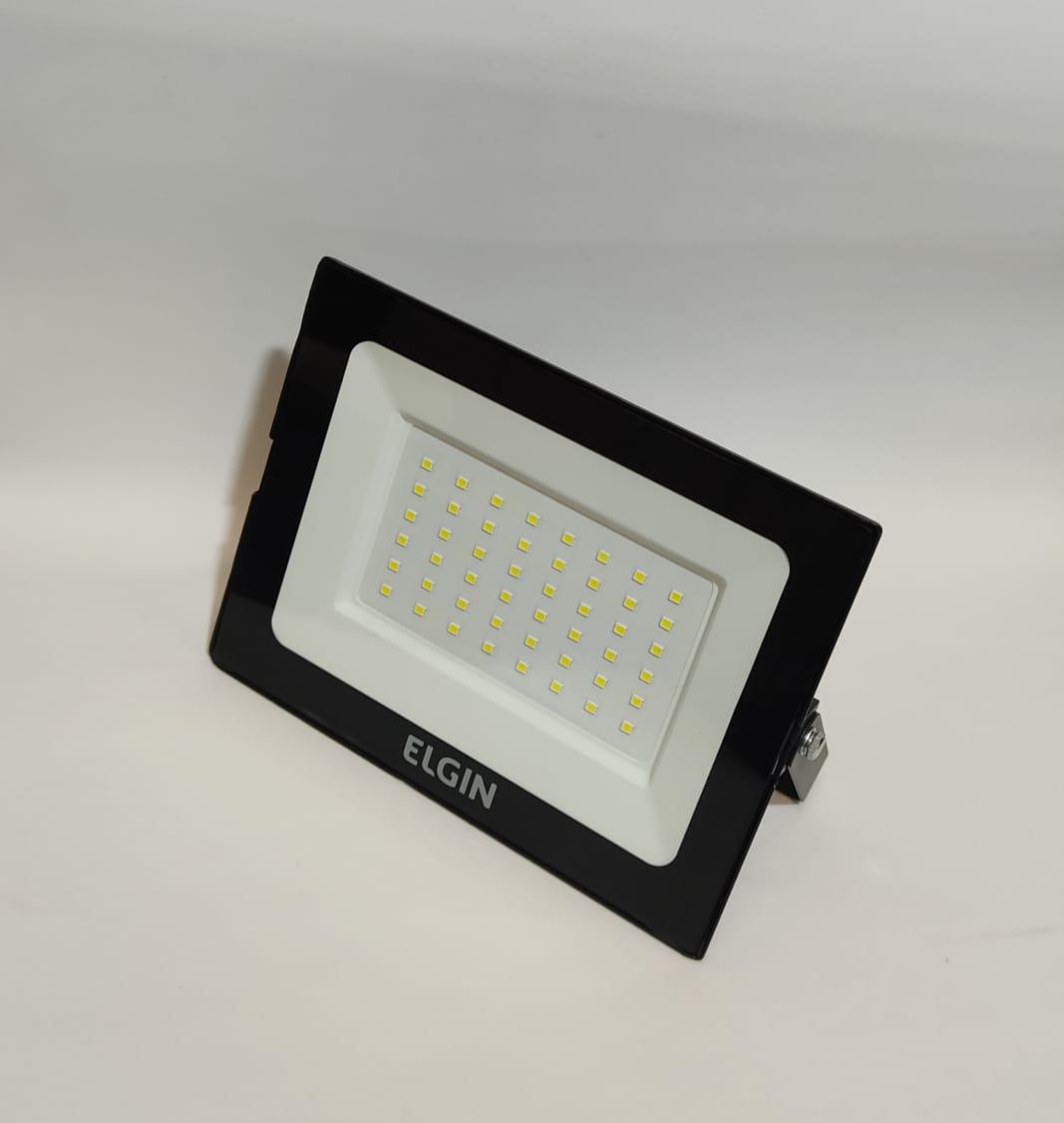 Refletor LED 50w ElGIN - SUPER PREÇO !!!   - Giamar