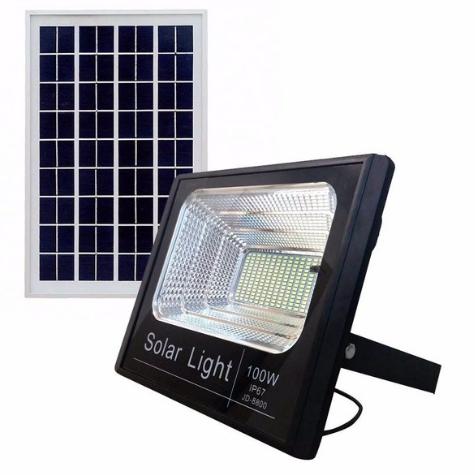 Refletor solar Led 100w Dimerizável