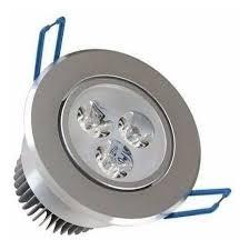 Spot LED Redondo Direcionável 3w BQ  - Giamar