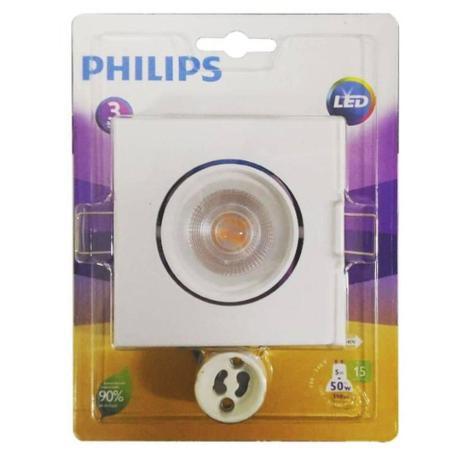 Spot Led Quadrado 5w Philips  - Giamar