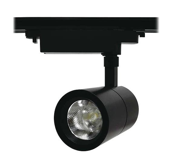 SPOT LED TRILHO 15W - PRETO   - Giamar
