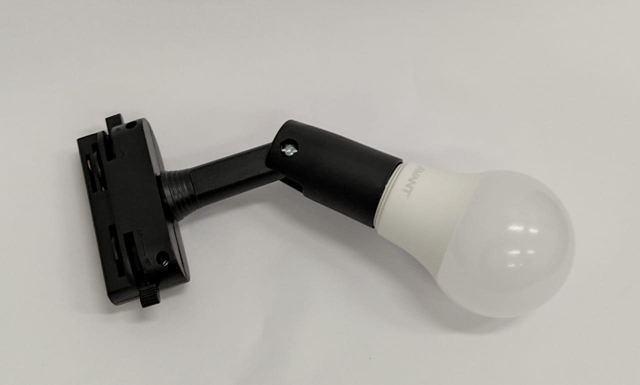 Spot Trilho Com Lampada Led Bulbo 9W  - Giamar