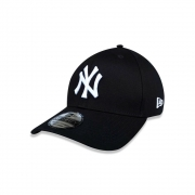 BONÉ NEW ERA ABA CURVA 39THIRTY MLB NEW YORK YANKEES PRETO