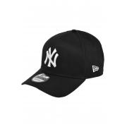 BONÉ NEW ERA ABA CURVA 9FORTY MLB NEW YORK YANKEES PRETO