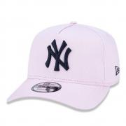 BONÉ NEW ERA ABA CURVA A-FRAME MLB NEW YORK YANKEES ROSA