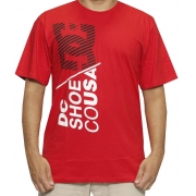 CAMISETA DC SHOES JUVENIL POSSE IN EFFECT 68112157 VERMELHO