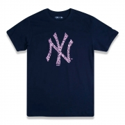 CAMISETA NEW ERA FEMININA MLB NEW YORK YANKEES EXTRA FRESH