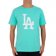 CAMISETA NEW ERA MASCULINA MLB LOS ANGELES DODGERS VERDE