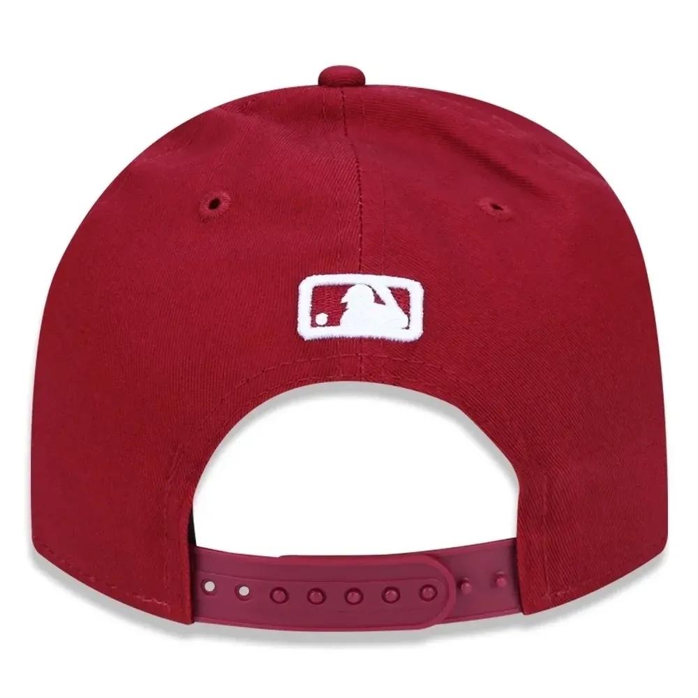 BONÉ NEW ERA ABA 9FORTY MLB NEW YORK YANKEES BORDO