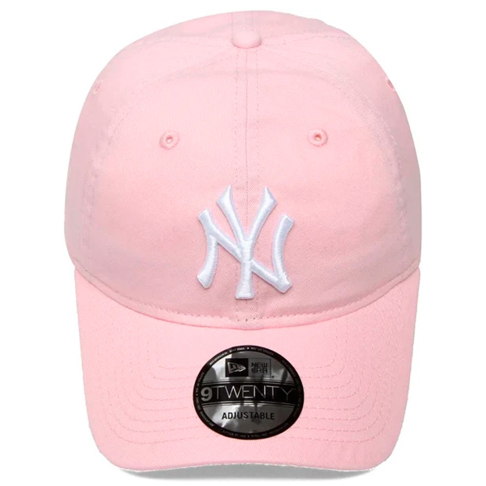 BONÉ NEW ERA ABA 9TWENTY NEW YORK YANKEES MLB ROSA CLARO