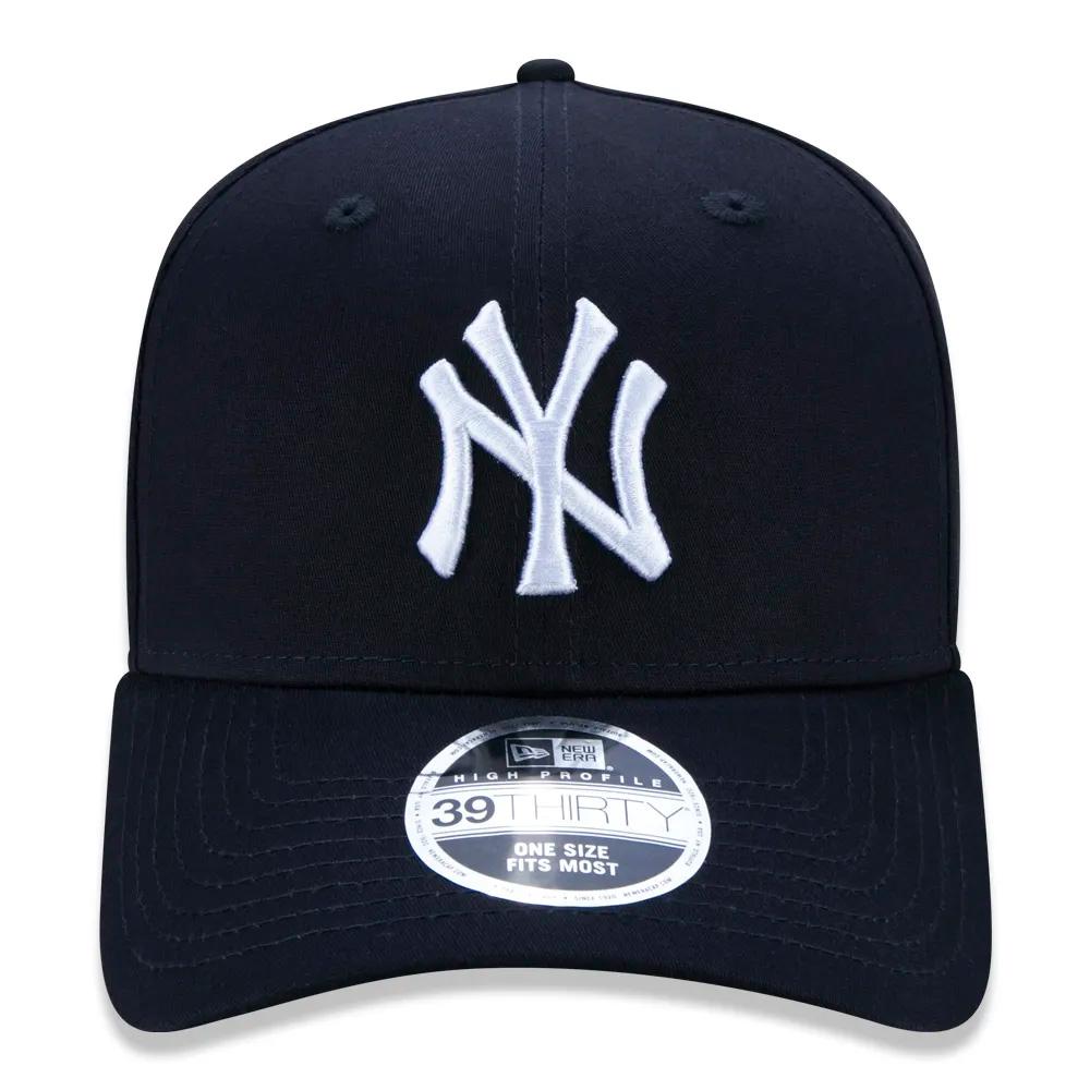BONÉ NEW ERA ABA CURVA 39THIRTY MLB NEW YORK YANKEES MARINHO