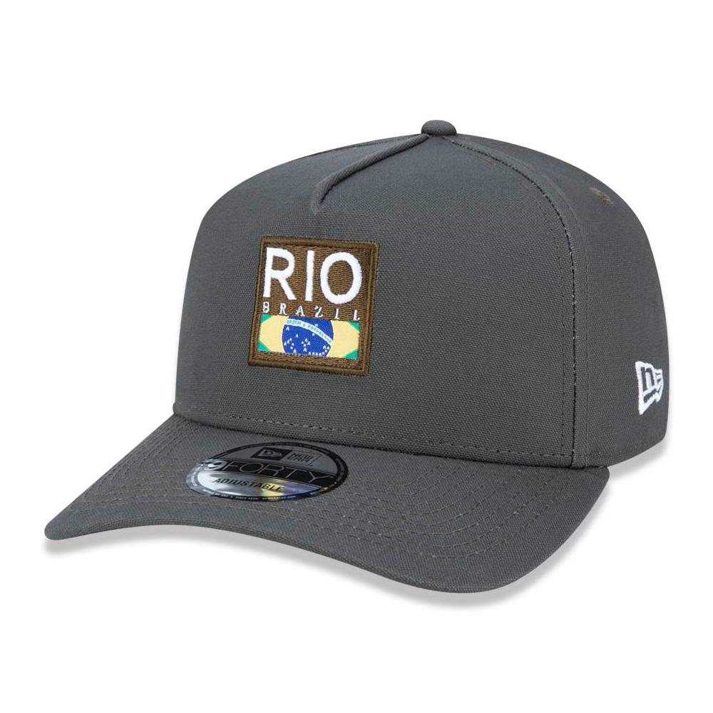 BONÉ NEW ERA ABA CURVA 940 AFRAME RIO DE JANEIRO NEV19BON149