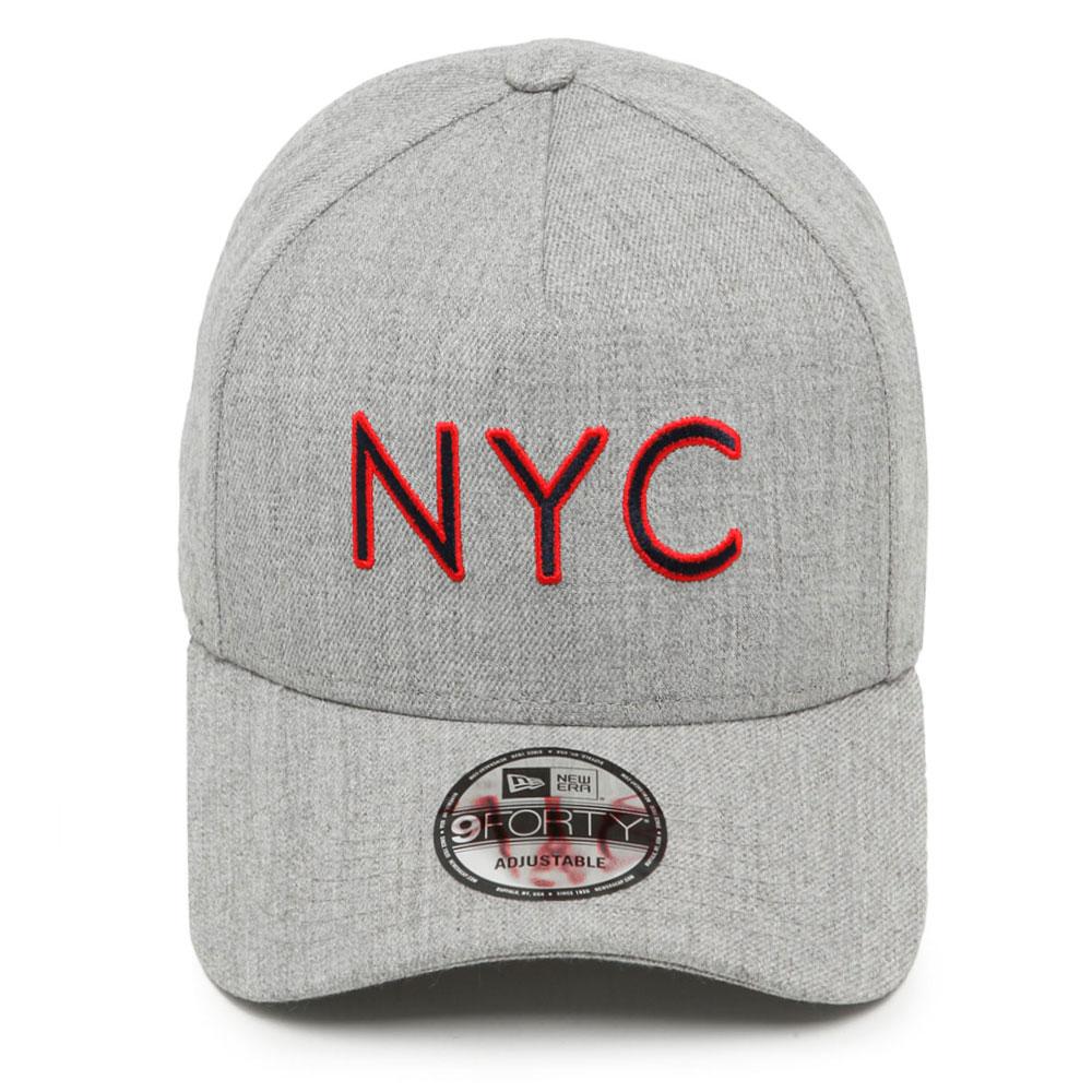 BONÉ NEW ERA ABA CURVA 940 NEW YORK CITY NEV19BON136 CINZA