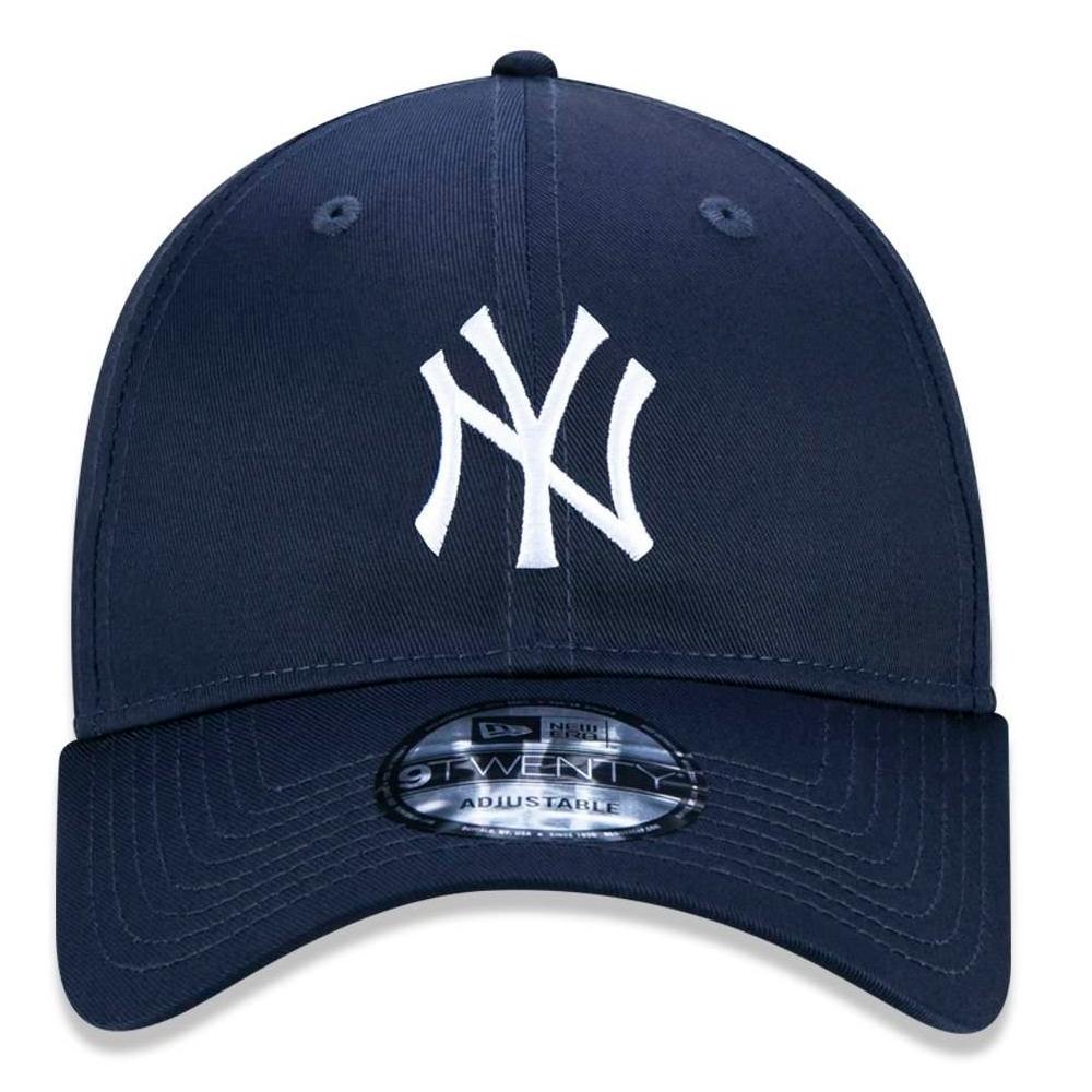 BONÉ NEW ERA ABA CURVA 9TWENTY MLB NEW YORK YANKEES MARINHO