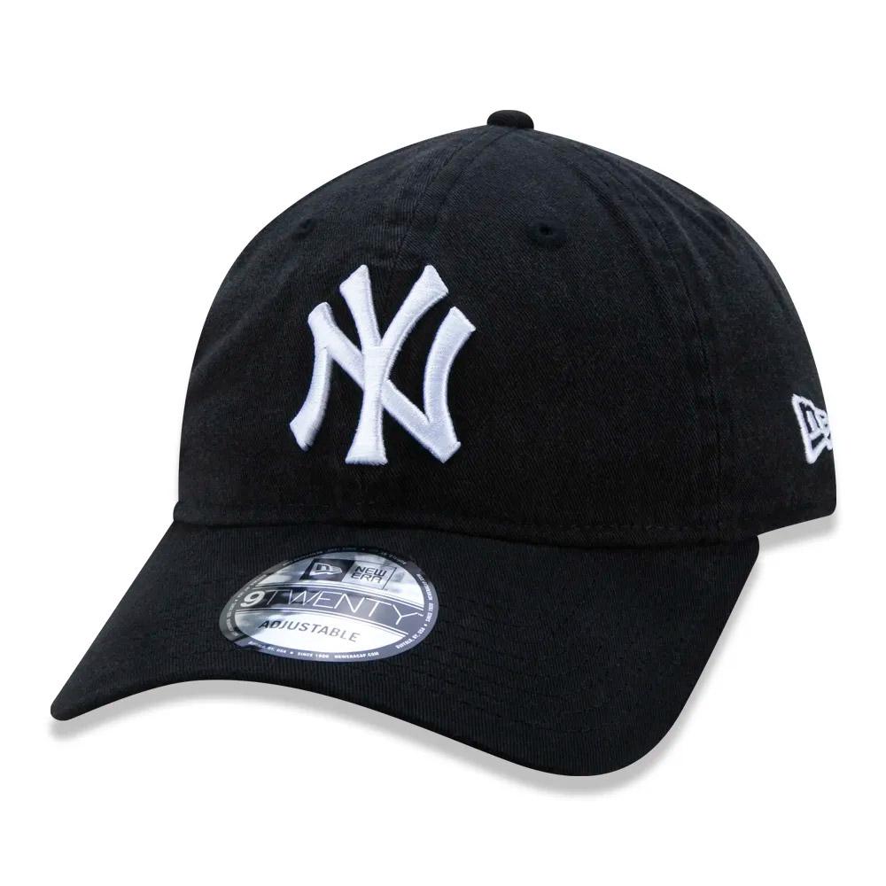 BONÉ NEW ERA ABA CURVA 9TWENTY NEW YORK YANKEES MLB PRETO