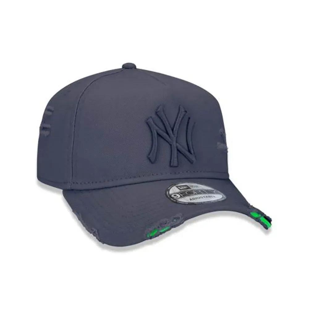 BONÉ NEW ERA ABA CURVA A-FRAME MLB NEW YORK YANKEES CINZA