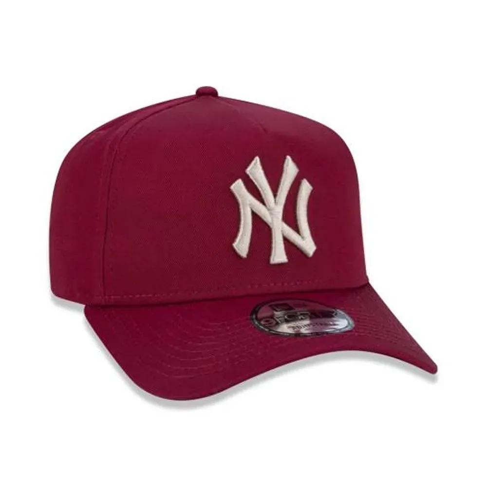 BONÉ NEW ERA ABA CURVA A-FRAME MLB NEW YORK YANKEES VERMELHO