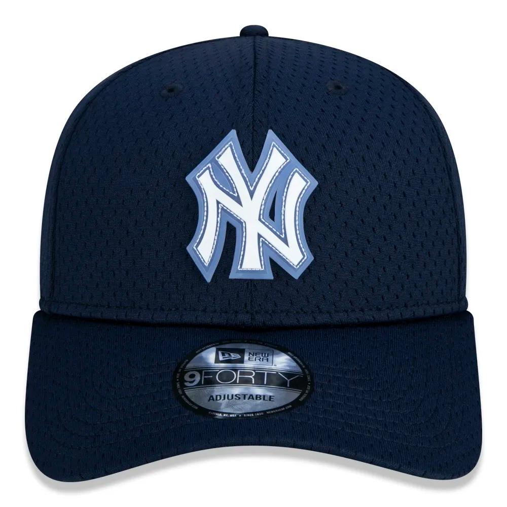 BONÉ NEW ERA ABA CURVA MLB NEW YORK YANKEES AZUL