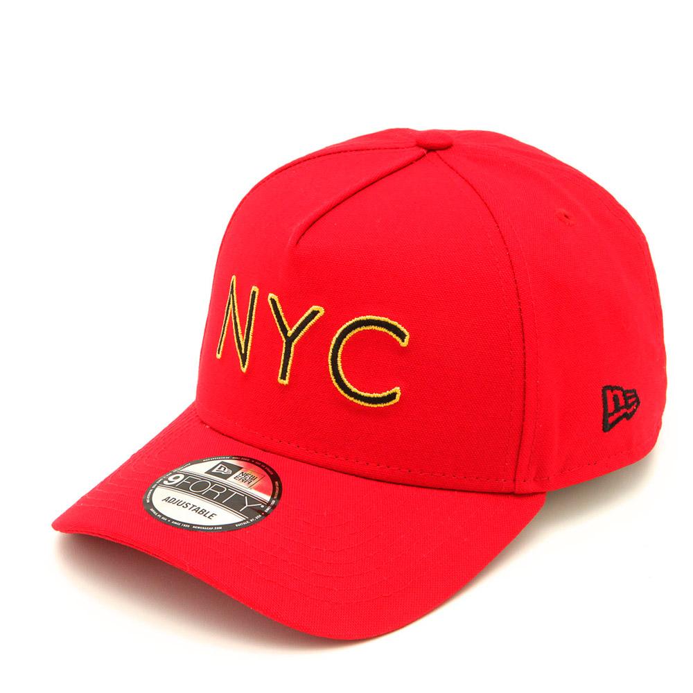 BONÉ NEW ERA ABA CURVA NEW YORK CITY NEV19BON166 VERMELHO