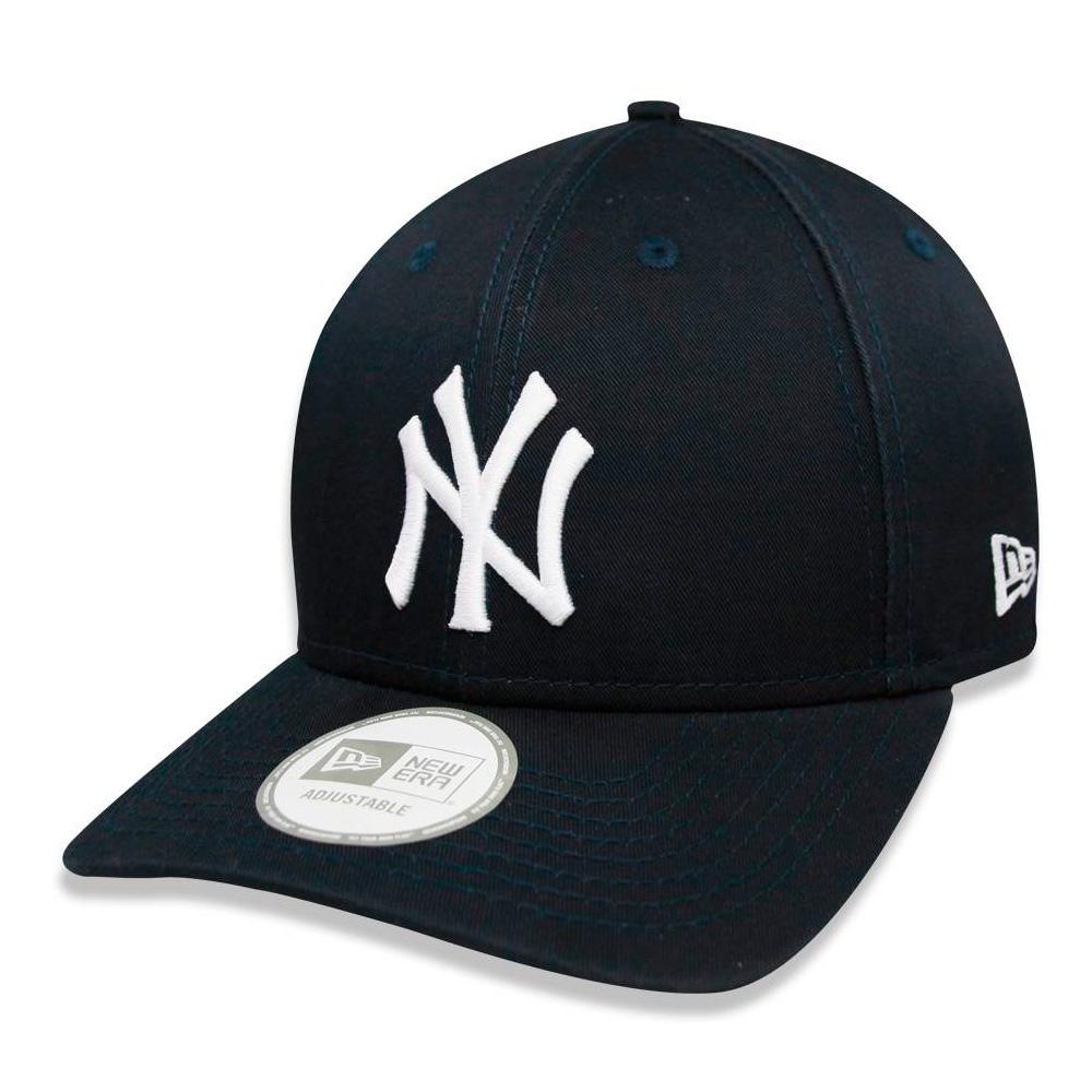 BONÉ NEW ERA ABA CURVA NEW YORK YANKEES MLB AZUL