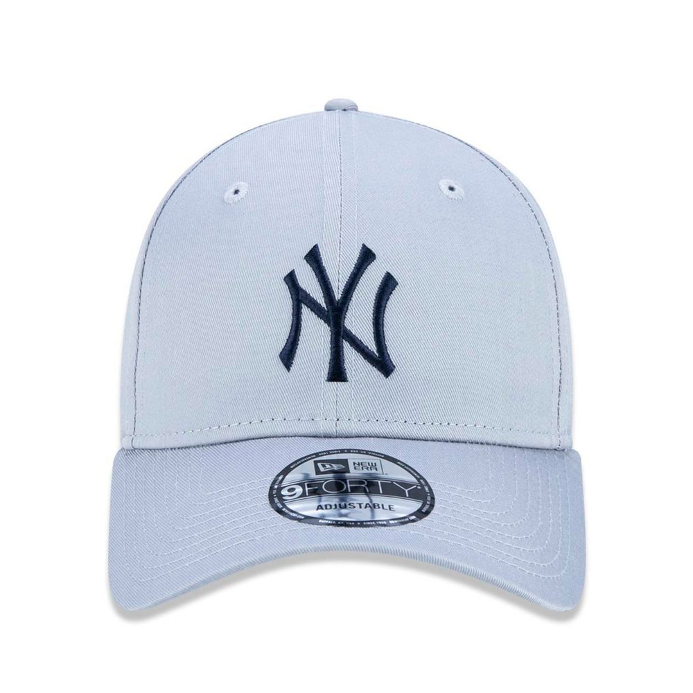BONÉ NEW ERA ABA CURVA NEW YORK YANKEES MLB CINZA