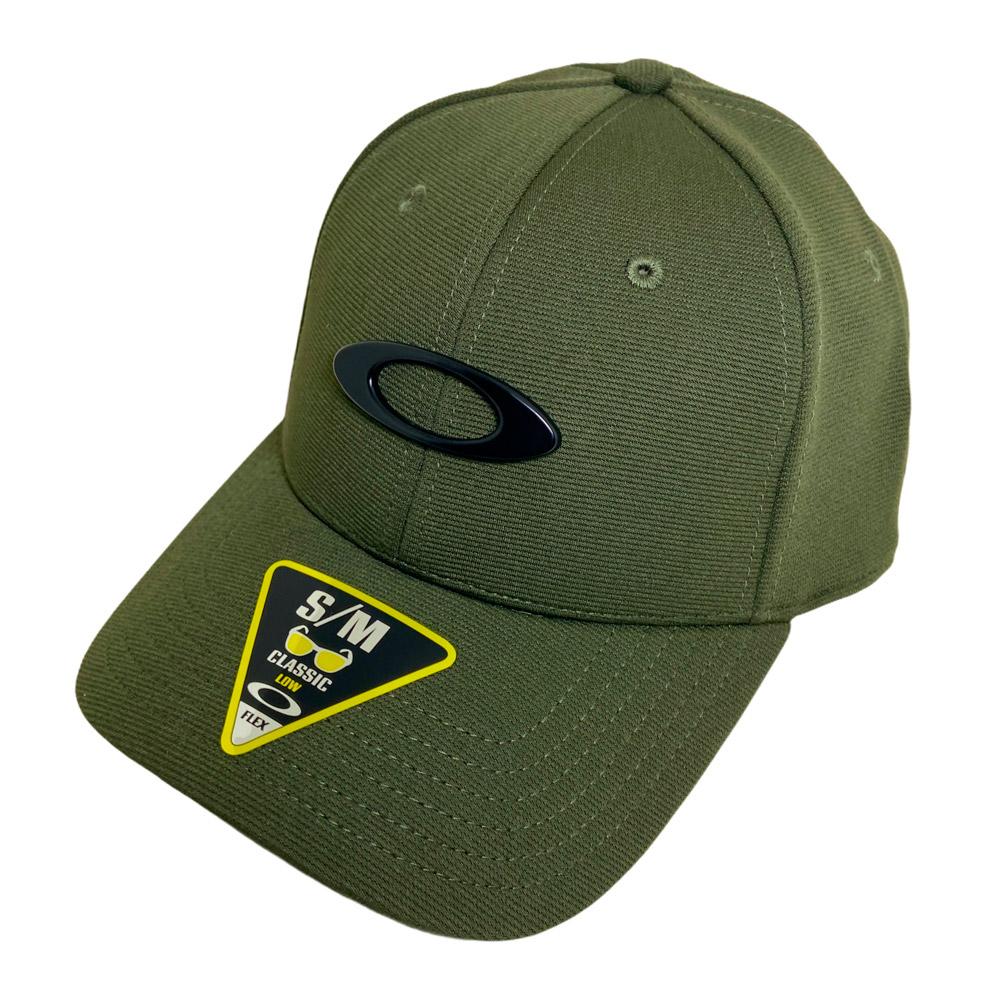 BONÉ OAKLEY MASCULINO ORIGINAL ABA CURVA TINCAN CAP VERDE
