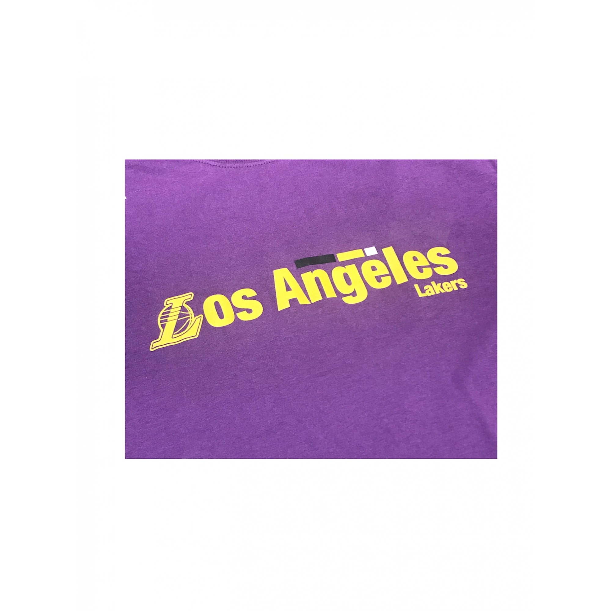CAMISETA NEW ERA MASCULINA LOS ANGELES LAKERS ROXO