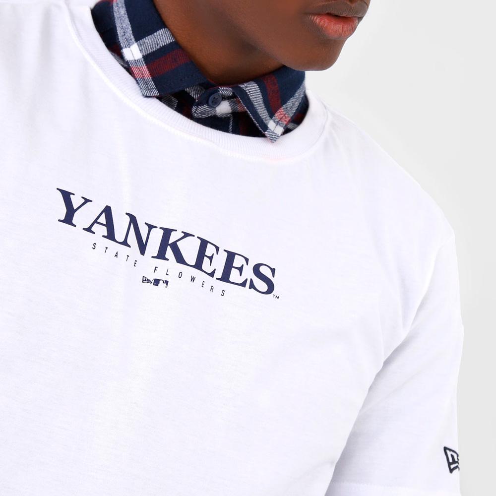 CAMISETA NEW ERA MASCULINA MLB NEW YORK YANKEES BRANCA
